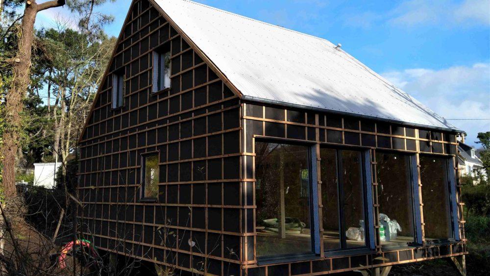 Maison ossature bois à Perros-Guirec
