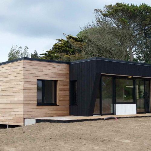 Maison bois à Locquirec (29241)